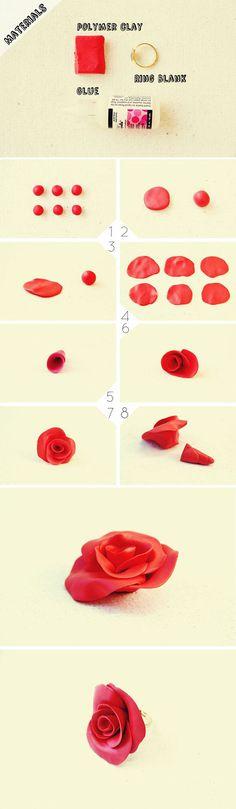 DIY Beautiful Rose Ring | DIY & Crafts Tutorials