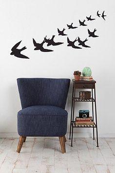 Anne Cahsens Freedom Birds Wall Decal $49.00