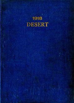 1918 Desert, University of Arizona Yearbook