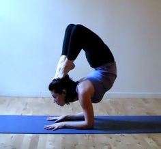 Forearm Stand Scorpion
