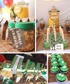 Dinosaur Party #planning #decorations #favors #idea #boy (14)