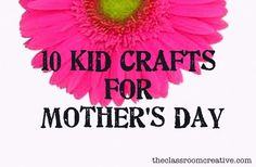 Mothers Day Projects For Kids  Mothers Day 2011  Craft Ideas For Gifts Cards And Activities
