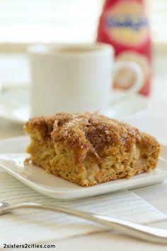 Cinnamon Sugar Apple Cake from 2 Sisters 2 Cities
