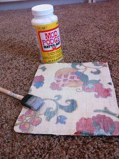 DIY Mouse Pad Tutorial
