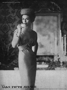 Sak Fifth Avenue ad  December Vogue 1958