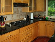 Kitchen cabinet restoration can be a great solution to preserving your existing kitchen design.