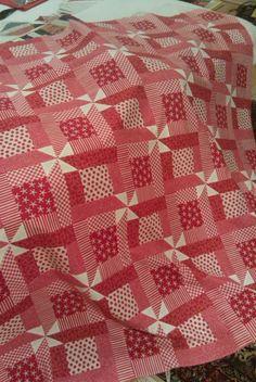 Easy scrap quilt