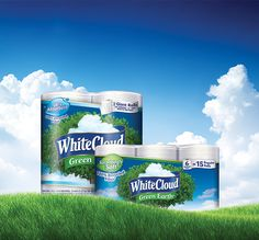 With White Cloud GreenEarth® products, going green doesn't have to be difficult! #LivingtheGreen