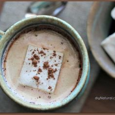 Naturally Sweetened Hot Chocolate Recipe