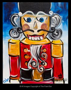 Nutcracker Painting - Jackie Schon, The Paint Bar