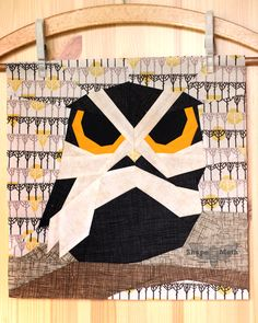 Shape Moth: Otis the Owl, Giveaway and Autumn Block Party