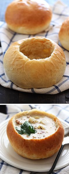 How to Make Homemade Bread Bowls