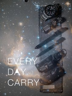 Every Day Carry Poster