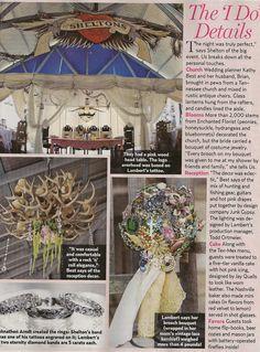 brooch bouquets, idea, bouquet leigh, chandeliers, blake shelton, country weddings, vintage brooches, wedding details, miranda lambert