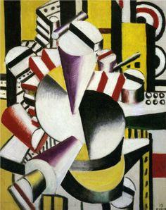 Fernand Leger, Composition, 1919