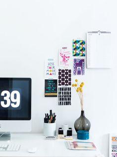 Dorm Desk Inspo