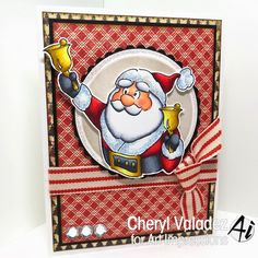 Just one more holiday card by Cheryl Valadez!