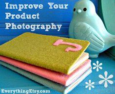Improve Your Product Photography...make your photos pop!  {5 DIY Tutorials}