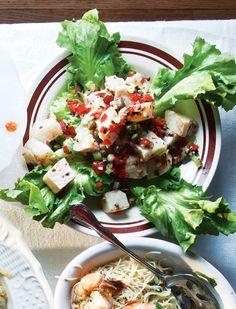 Italian baccala (salt cod) salad