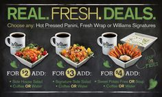 @Williams_Fresh #deals