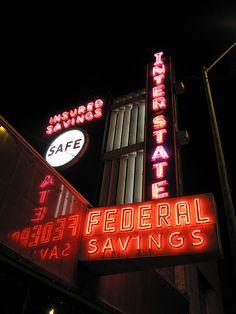 Interstate Federal Savings, downtown Kansas City KS