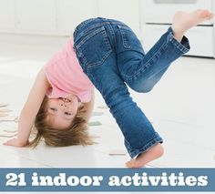 21 indoor activities to keep the kids busy in this cold... AGAIN ;-)