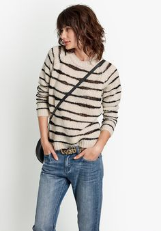 Irregular Stripe Jum