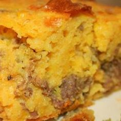 Cornbread that is a Meal... Holy wow this looks so yum!