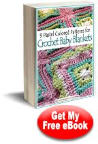 9 Pastel Colored Patterns for Crochet Baby Blankets | AllFreeCrochetAfghanPatterns.com