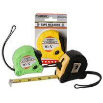 dollar tree, tape measur