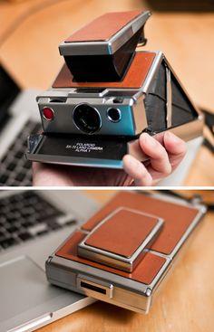 Vintage slim polaroid 1972