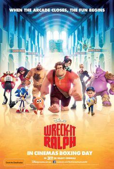 """""""Wreck-it Ralph"""", new international Poster"""