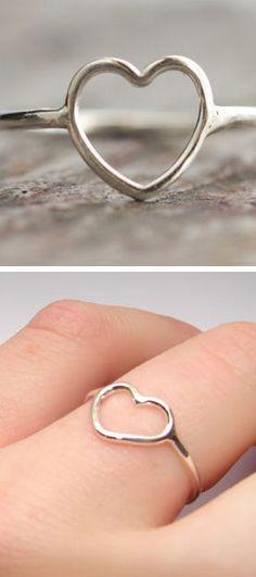 Open Heart Ring ♡