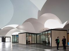Oostcampus-Carlos-Orroyo-Arquitectos clouds, architects, coke, oostcampus, ceilings, belgium, architecture, carlo arroyo, factories