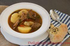 Shurpa-Шурпа на костре - Delights Of Culinaria
