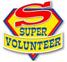 Super Volunteer - love this one!