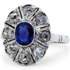 I feel like this is something you'd like...perhaps b/c it reminds me of Kate's (Middleton) ring.