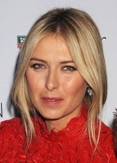 Maria Sharapova Messy Updo