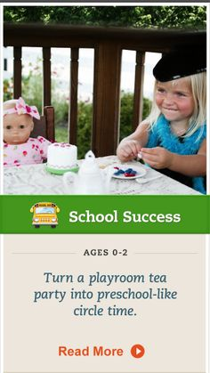 "Practice ""circle time"" at home to get your child prepared for preschool. Click for more. #SchoolSuccess"