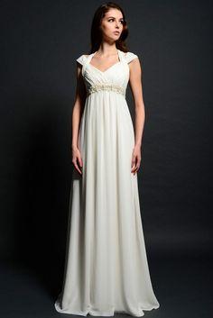 Pretty informal wedding dress for the mature bride Eden BridalsSL042