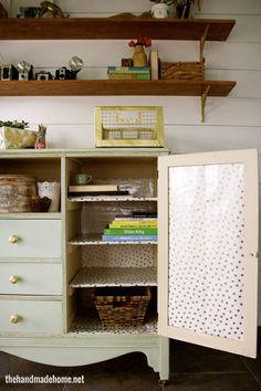 studio design and easy diy storage