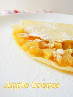 Apple Crepes, quick and easy from scratch!!