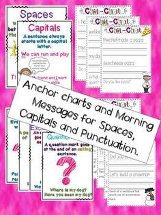 CHIT CHAT MORNING MESSAGES 3 {ALIGNED WITH COMMON CORE - These are so great!