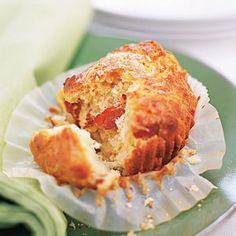 Bacon-Cheddar Muffins | MyRecipes.com