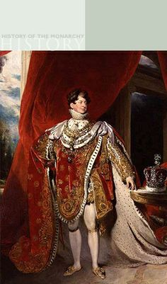 King George IV by Sir Thomas Lawrence (1769-1830) The Royal Collection @2006, Her Majesty Queen Elizabeth II