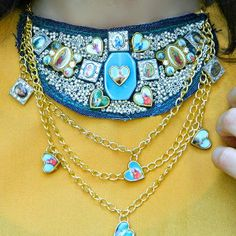 Your prayers for style guidance have been answered with this stunning Saintly Statement Necklace. Whether you are a sinner or a saint, this DIY necklace is sure to make you feel a little calmer.