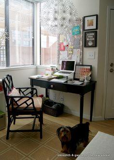 Gorgeous {San Francisco} apartment! {Home Office}