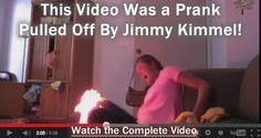The Epic Twerk Fire Video Was a Jimmy Kimmel Prank!