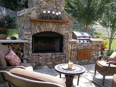 grill, bbq idea, outdoor living spaces, outdoor kitchens, backyard