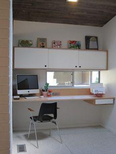 cupboard, architects, office nook, hous desk, lakewood hous, standing desks, office area, bureau, deforest architect